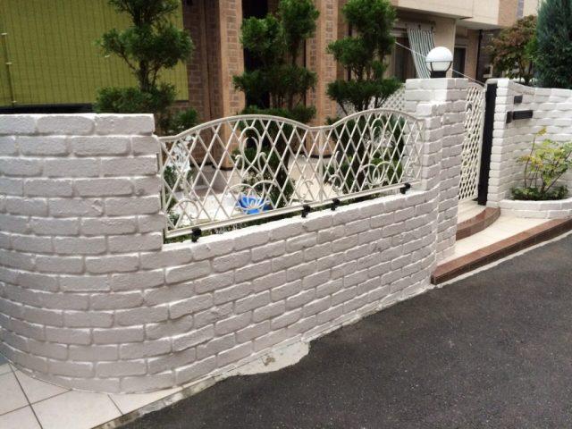 埼玉県春日部市 H様邸の施工例|外構廻りの塗装工事