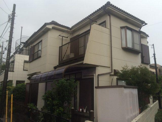 埼玉県越谷市 O様邸の施工例|外壁塗装の工事
