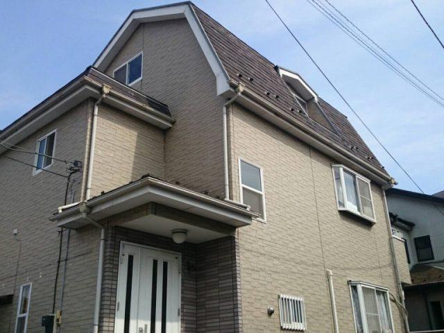 埼玉県越谷市H様邸の施工例|外壁・屋根の塗装工事 施工事例