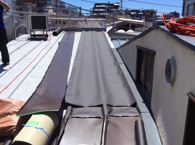 さいたま市大宮区 S様邸 屋根の瓦棒被せ葺き工事 施工事例