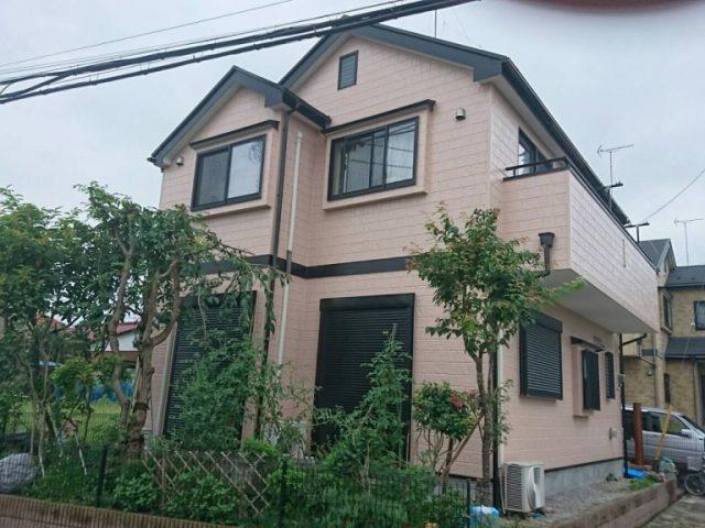 さいたま市見沼区のU様邸|外壁・屋根・付帯部の塗装工事 施工事例