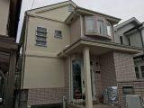 越谷市のT様邸 外壁・屋根・付帯部塗装・雨どい交換の塗装工事 施工事例