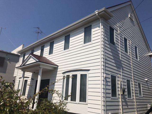 埼玉県伊奈町のS様邸 外壁・屋根の塗装と雨どい交換