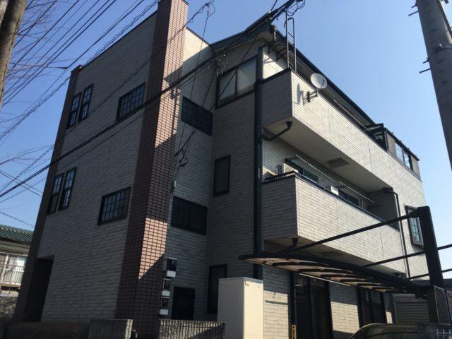 埼玉県久喜市のM様邸 外壁・バルコニー・付帯部の塗装工事