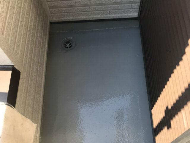 雨漏りによるバルコニーのウレタン防水工事|さいたま市北区I様邸