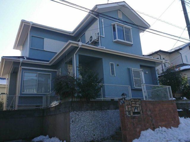 外壁・屋根・付帯部の塗装工事|埼玉県越谷市せんげん台・T様邸の外装リフォーム