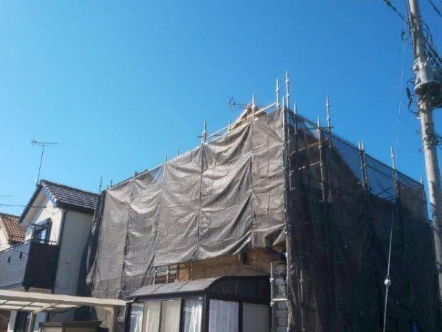 外壁・屋根・付帯部の塗装工事|埼玉県春日部市のT様邸にて塗り替えリフォーム